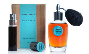Moon Bloom bottle and decant, via Hiram Green.