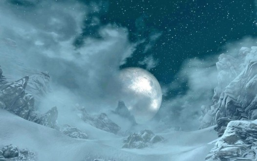 """Moon in the billowing mists"" by Norroen-Stjarna on Deviantart.com"