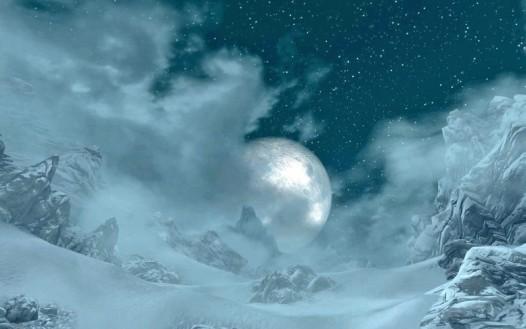 """""""Moon in the billowing mists"""" by Norroen-Stjarna on Deviantart.com"""