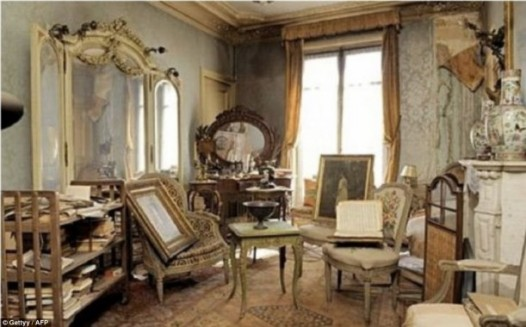The famous, recently discovered Paris apartment, untouched and unopened for 70 years. Source: DailyMail.com http://tinyurl.com/cweo355