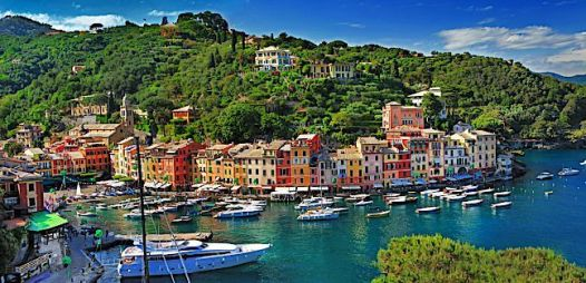 Portofino on the Italian Riviera. Source: yachtcharterfleet.com