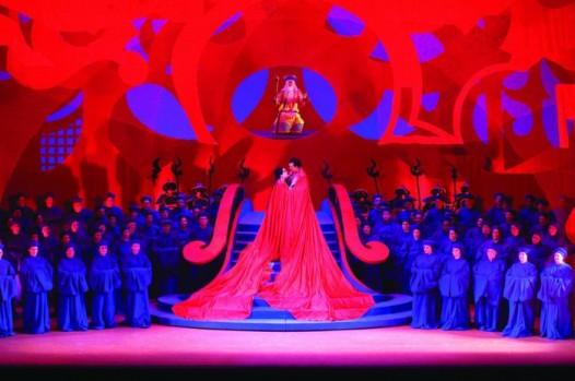 Turandot by the San Francisco Opera. Photo: Robert Kusel. Source: hauteliving.com