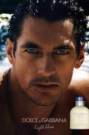 Supermodel David Gandy for D&G Light Blue. Source: Pinterest.