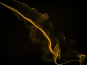 """Gold smoke"" by etafaz on deviantART."