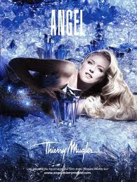 Naomi Watts in Thierry Mugler's Angel campaign ad. Source: Basenotes.com
