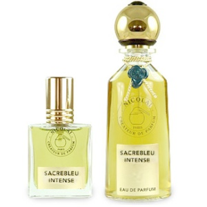 The 30 ml and 100 ml bottles of Sacrebleu Intense. Source: Luckyscent