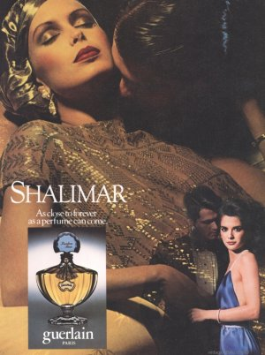 Vintage Shalimar ad. Sourc: caviardujour.com