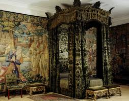 The Green Velvet Room at Hardwick Castle, England. Photo: NTPL/Nadia Mackenzie.