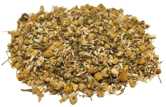 Dried Camomile tea leaves via uniquecoffeeroasters.com